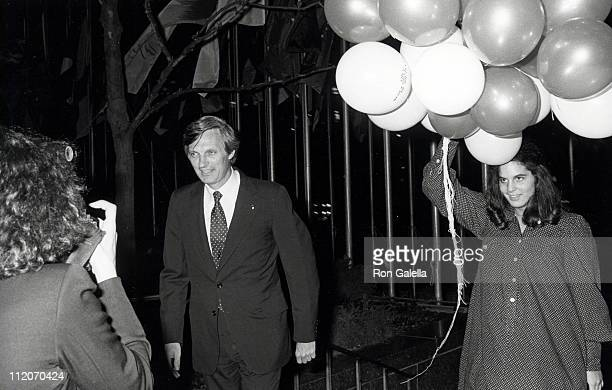 Alan Alda and Elizabeth Alda during The Seduction of Joe Tynan New York City Premiere Party at Promenade Cafe Rockefeller Plaza in New York City New...
