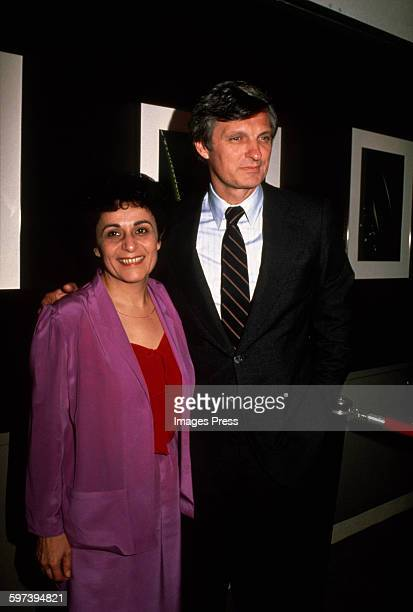 Alan Alda and wife Arlene circa 1981 in New York City