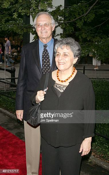Alan Alda and wife Arlene during The Public's Theaters Annual Gala Opening Night of Macbeth at The Delacorte Theater in Central Park in New York City...