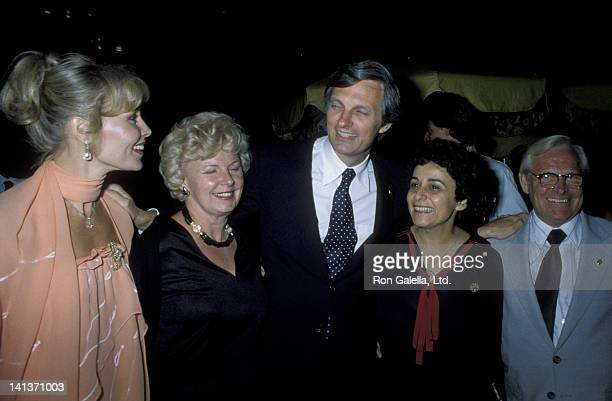 Alan Alda and wife Arlene Weiss attend 19th Birthday Party for Elizabeth Alda on August 15 1979 at the Promenade Cafe in New York City