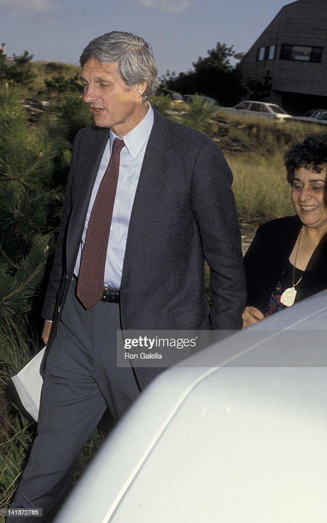 Alan Alda And Wife Arlene Weiss Attend Frank Gifford Kathie Lee