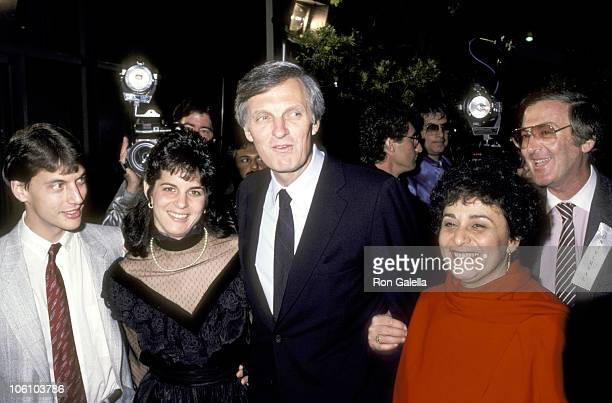 Alan Alda Arlene Alda and Family during Premiere of 'Sweet Liberty' April 22 1986 at Samuel Goldwyn Theater in Beverly Hills California United States