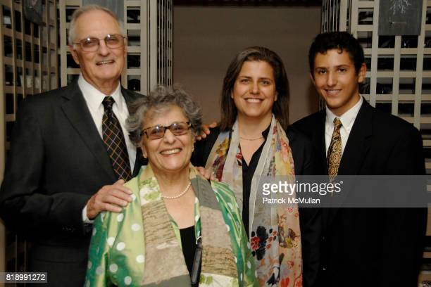 Alan Alda Arlene Alda Jennifer Brooke and Arthur Brooke attend THE PERLMAN MUSIC PROGRAM'S Annual Spring Benefit Dinner and Concert at Bar Boulud and...