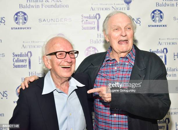 Alan Alda attend Eric Kandel Authors Night 2017 At The East Hampton Library at The East Hampton Library on August 12 2017 in East Hampton New York