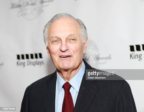 Alan Alda attends 69th Annual Theatre World Award Ceremony at The Music Box Theatre on June 3 2013 in New York City