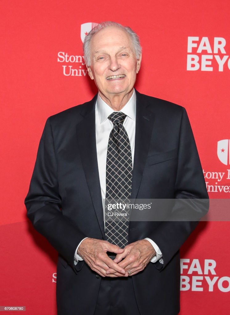 Alan Alda attends the 2017 Stars of Stony Brook Gala at Pier Sixty at Chelsea Piers on April 19, 2017 in New York City.