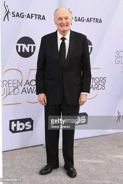 Alan Alda attends the 25th Annual Screen Actors Guild Awards at The Shrine Auditorium on January 27 2019 in Los Angeles California
