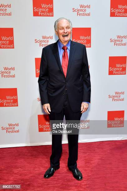 Alan Alda attends the World Science Festival 2017 Gala at Jazz at Lincoln Center on May 30 2017 in New York City