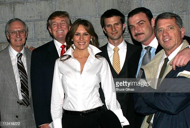 Alan Alda Donald Trump Melania TrumpTrump Frederick Weller Liev Schreiber and Tom Wopat *Exclusive*