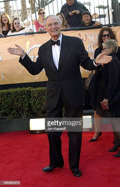 Alan Alda during 2005 Screen Actors Guild Awards Arrivals at The Shrine in Los Angeles California United States