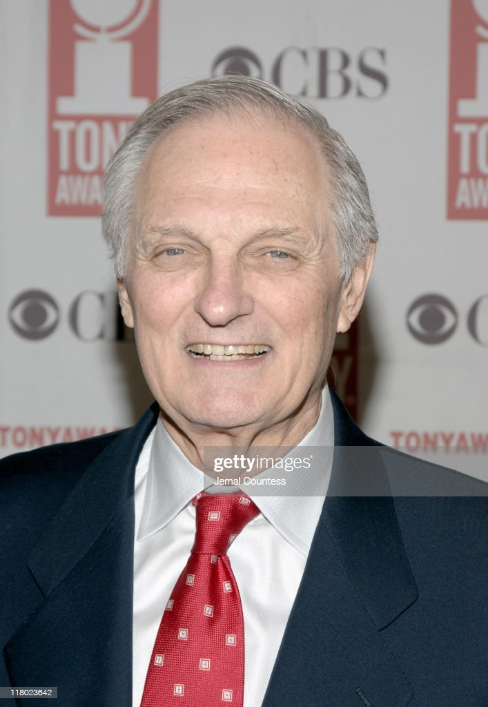 Alan Alda during 59th Annual Tony Awards - 'Meet The Nominees' Press Reception at The View at The Marriot Marquis in New York City, New York, United States.