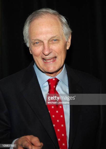 Alan Alda during The 71st Annual Drama League Awards Inside Arrivals at Marriott Marquis Hotel in New York City New York United States