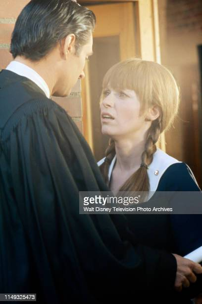 Alan Alda Louise Lasser appearing on the ABC tv movie 'Class of '55'