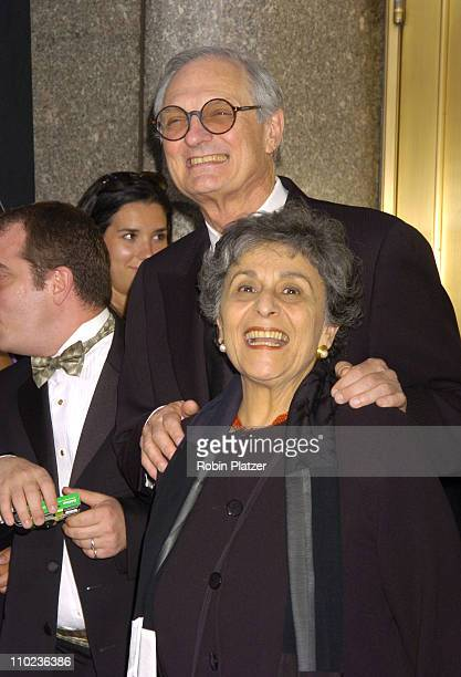 Alan Alda nominee Best Performance by a Featured Actor in a Play for 'Glengarry Glen Ross' and wife Arlene Alda