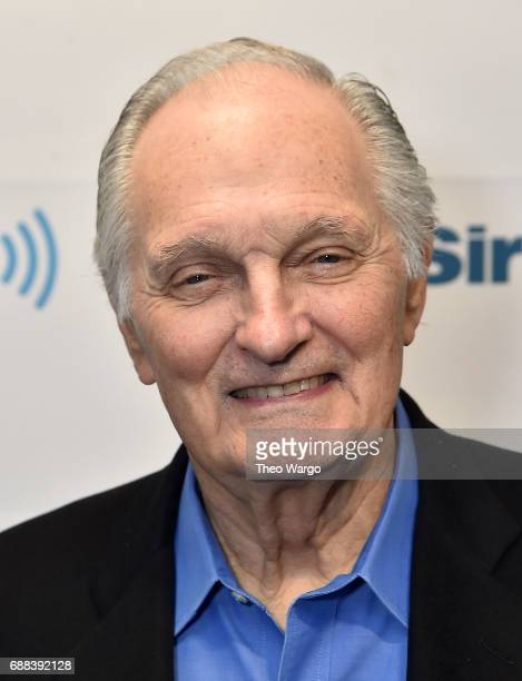 Alan Alda visits the SiriusXM Studios on May 24 2017 in New York City