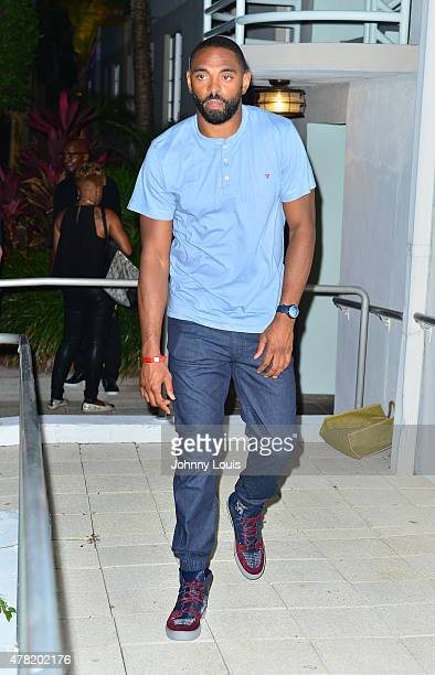 Alan Anderson attends the VIP KickOff Concert during the 11th Annual Irie Weekend at Kimpton Surfcomber Hotel on June 18 2015 in Miami Beach Florida