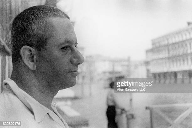 Alan Ansen Venice July 1957 A wiseeyed Alan Ansen host on the Grand Canal 1957 Peter Orlovsky I stayed that summer in his San Semuele flat met...