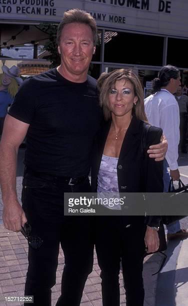 Alan Autry met mooie, vrouw Kimberlee Autry