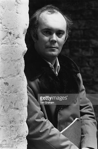 Alan Ayckbourn, an English playwright and a founder member of the Victoria Theatre in Stoke-On-Trent, and also a distinguished director.