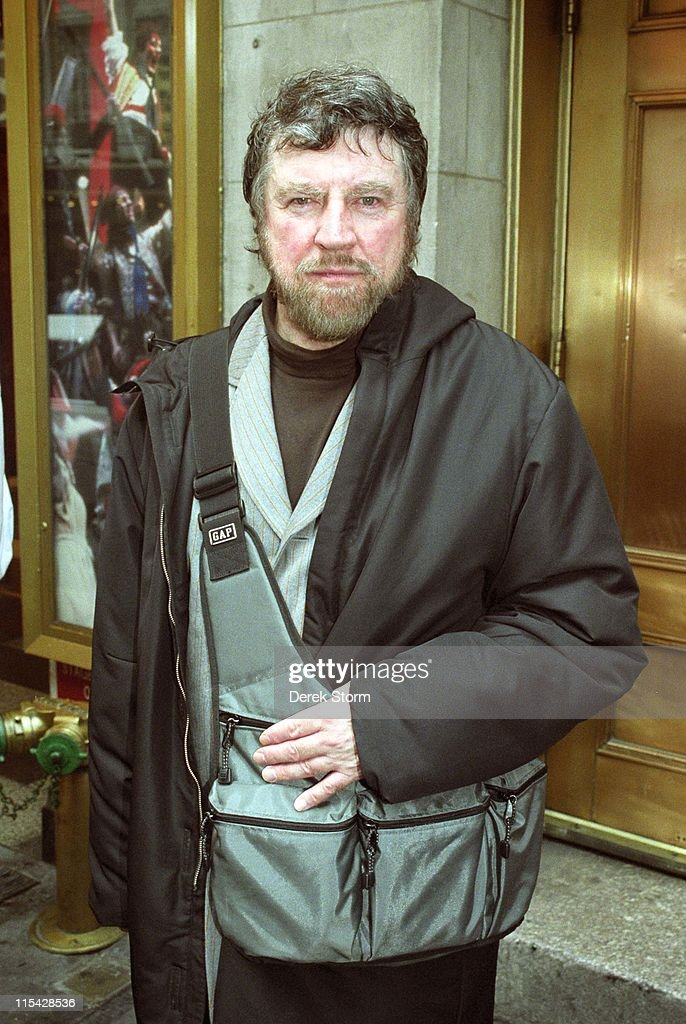 Alan Bates during Celebrities exit the Music Box Theater - March 9, 2002 at Music Box Theater in New York City, New Jersey.