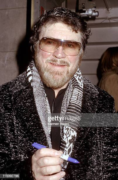 Alan Bates during Curtain Call for the Broadway opening of 'Fortune's Fool' at Music Box Theater in New York City New York United States