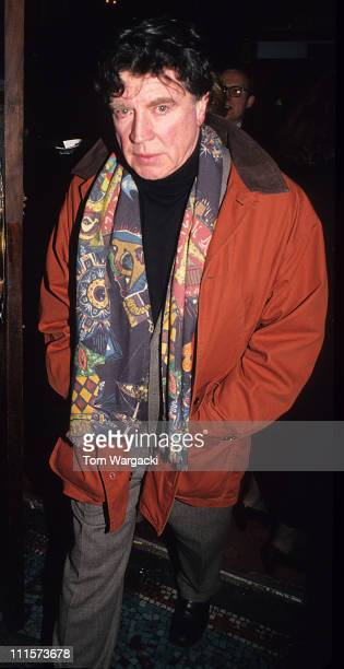 Alan Bates during 'Hamlet' London Play at Hackney Empire in London Great Britain