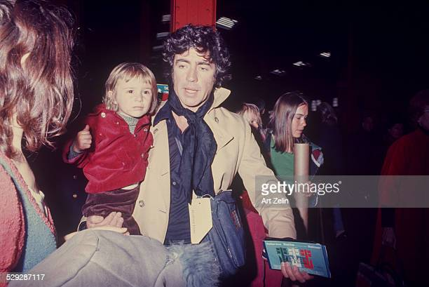 Alan Bates with his family on the QE II Alan Bates was in Zorba the Greek circa 1970 New York