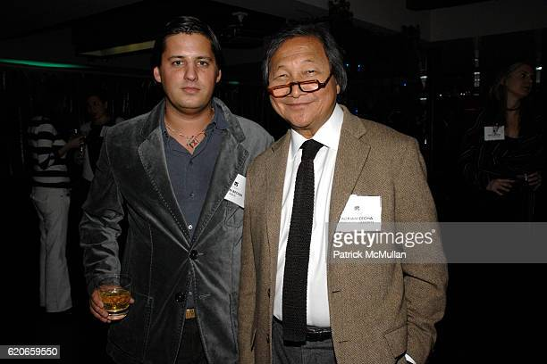 Alan Becker and Adrian Zecha attend NIZUC Resort and Residences Preview Opening at Soho House on January 22 2008 in New York City