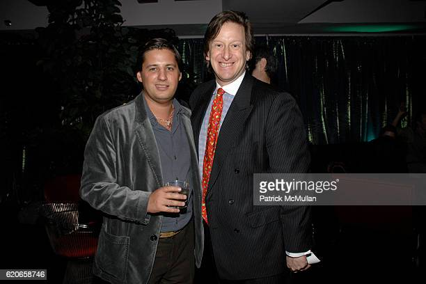 Alan Becker and Doug Gollan attend NIZUC Resort and Residences Preview Opening at Soho House on January 22 2008 in New York City