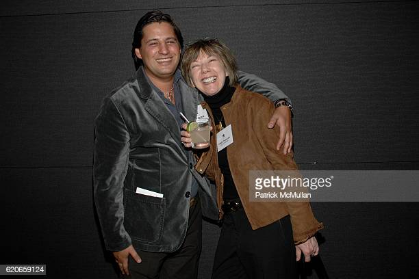 Alan Becker and Linda Tischler attend NIZUC Resort and Residences Preview Opening at Soho House on January 22 2008 in New York City