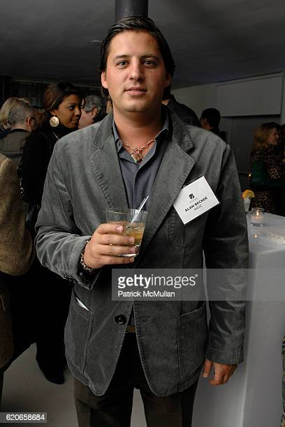 Alan Becker attends NIZUC Resort and Residences Preview Opening at Soho House on January 22 2008 in New York City