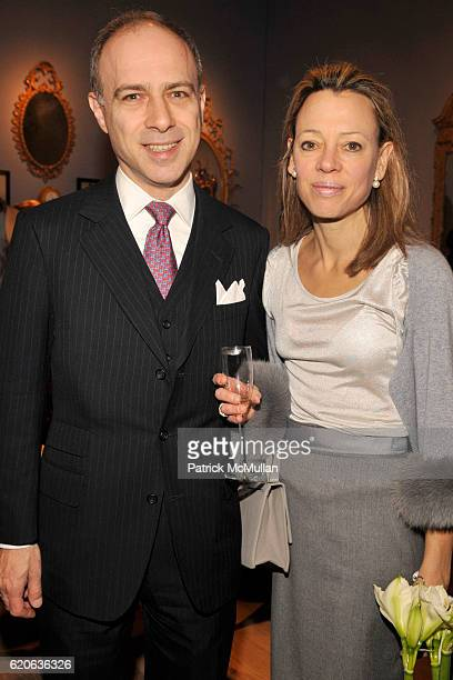 Alan Behr and Julie Behr attend 54TH ANNUAL WINTER ANTIQUES SHOW Opening Night Party to Benefit EAST SIDE HOUSE SETTLEMENT at Park Avenue Armory on...