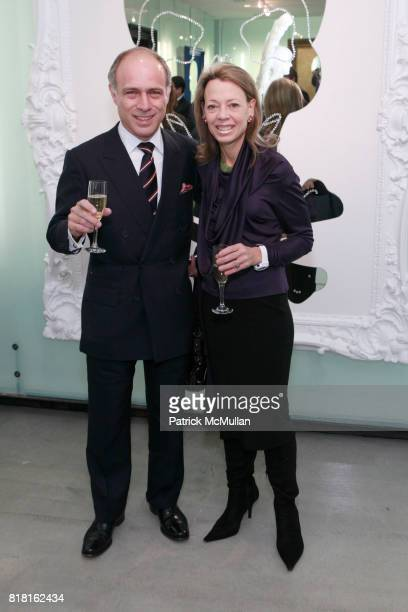 Alan Behr and Julie Behr attend GEOFFREY BRADFIELD'S 'THE QUICK AND THE DEAD' Opening at Sebastian Barquet Gallery on November 1st 2010 in New York...