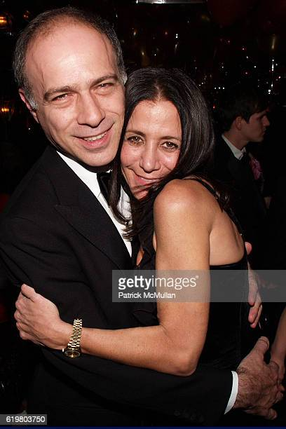 Alan Behr and Susan Traub attend GEOFFREY BRADFIELD'S Opium Party for RORIC TOBIN'S Birthday at Doubles Club on October 23 2008 in New York City