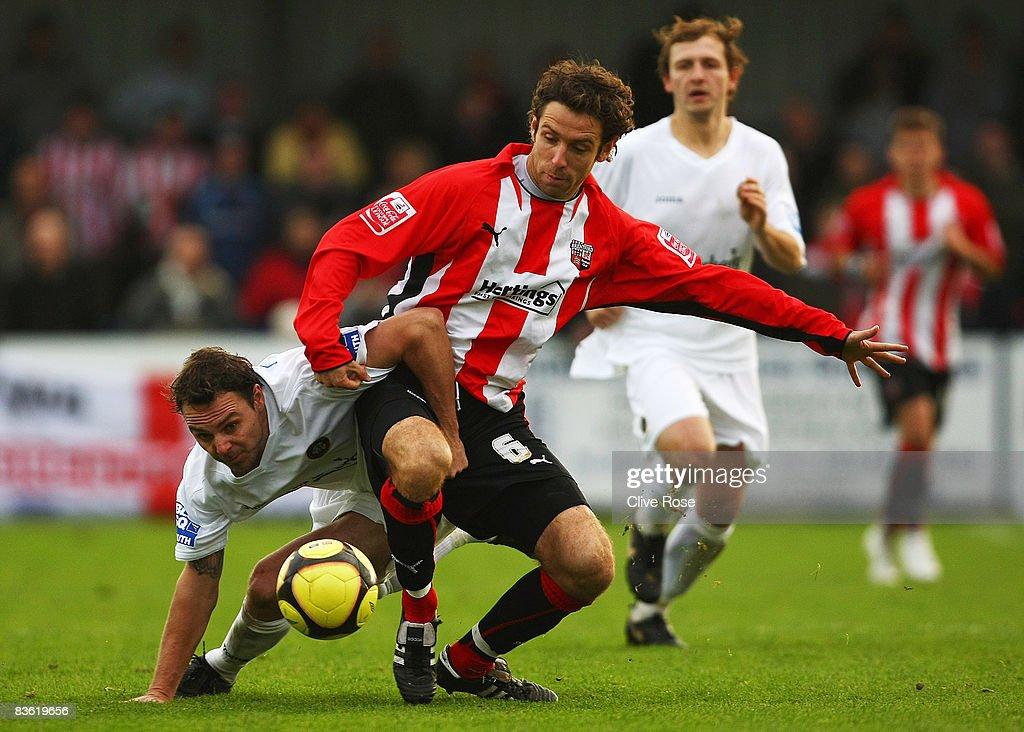 Havant & Waterlooville v Brentford - FA Cup 1st Round : News Photo