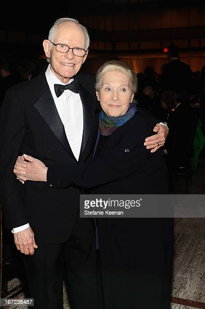 Alan Bergman and Marilyn Bergman attend The Film Society of Lincoln Center's 40th Chaplin Award Gala supported by Grey Goose vodka at Avery Fisher...
