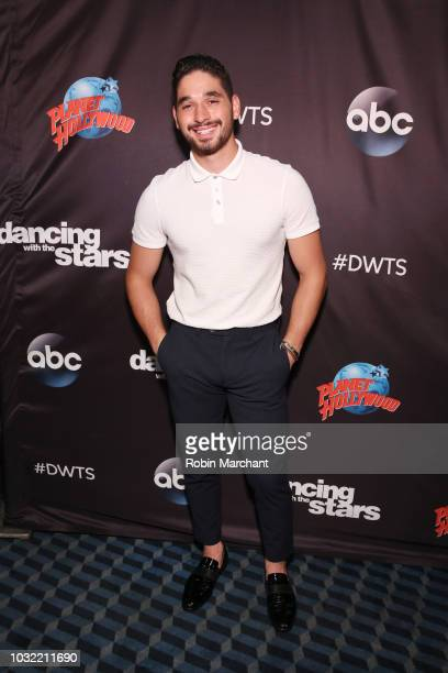 Alan Bersten attends Dancing With The Stars Season 27 Cast Reveal Red Carpet At Planet Hollywood Times Square at Planet Hollywood Times Square on...