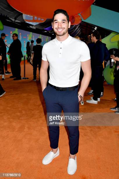 Alan Bersten attends Nickelodeon's 2019 Kids' Choice Awards at Galen Center on March 23 2019 in Los Angeles California