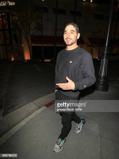 Alan Bersten is seen on May 14 2018 in Los Angeles California