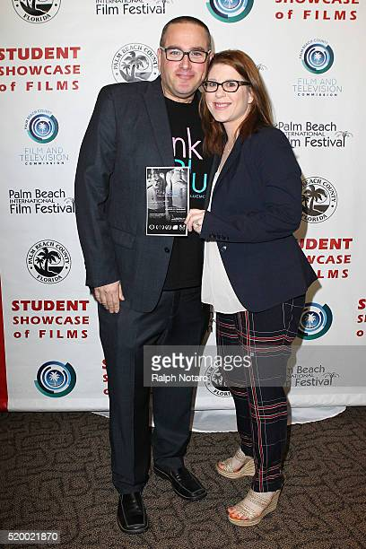 Alan Blassberg and Amy Byer Shainman attend Palm Beach International Film Festival 2016 Filmmakers Meet And Greet on April 7 2016 in Manalapan Florida