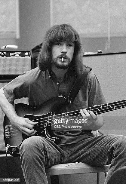 Alan Brackett of the band The Peanut Butter Conspiracy at a recording session in Los Angeles California Image dated February 8 1967