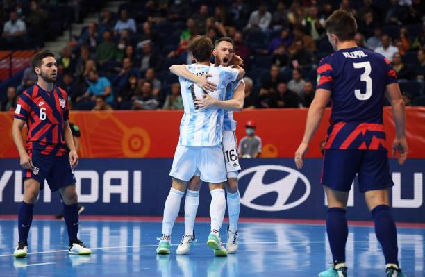 LTU: Argentina v USA: Group F - FIFA Futsal World Cup 2021