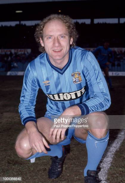 Alan Brazil of Coventry City before the Canon League Division One match between Coventry City and Birmingham City at Highfield Road on February 16...