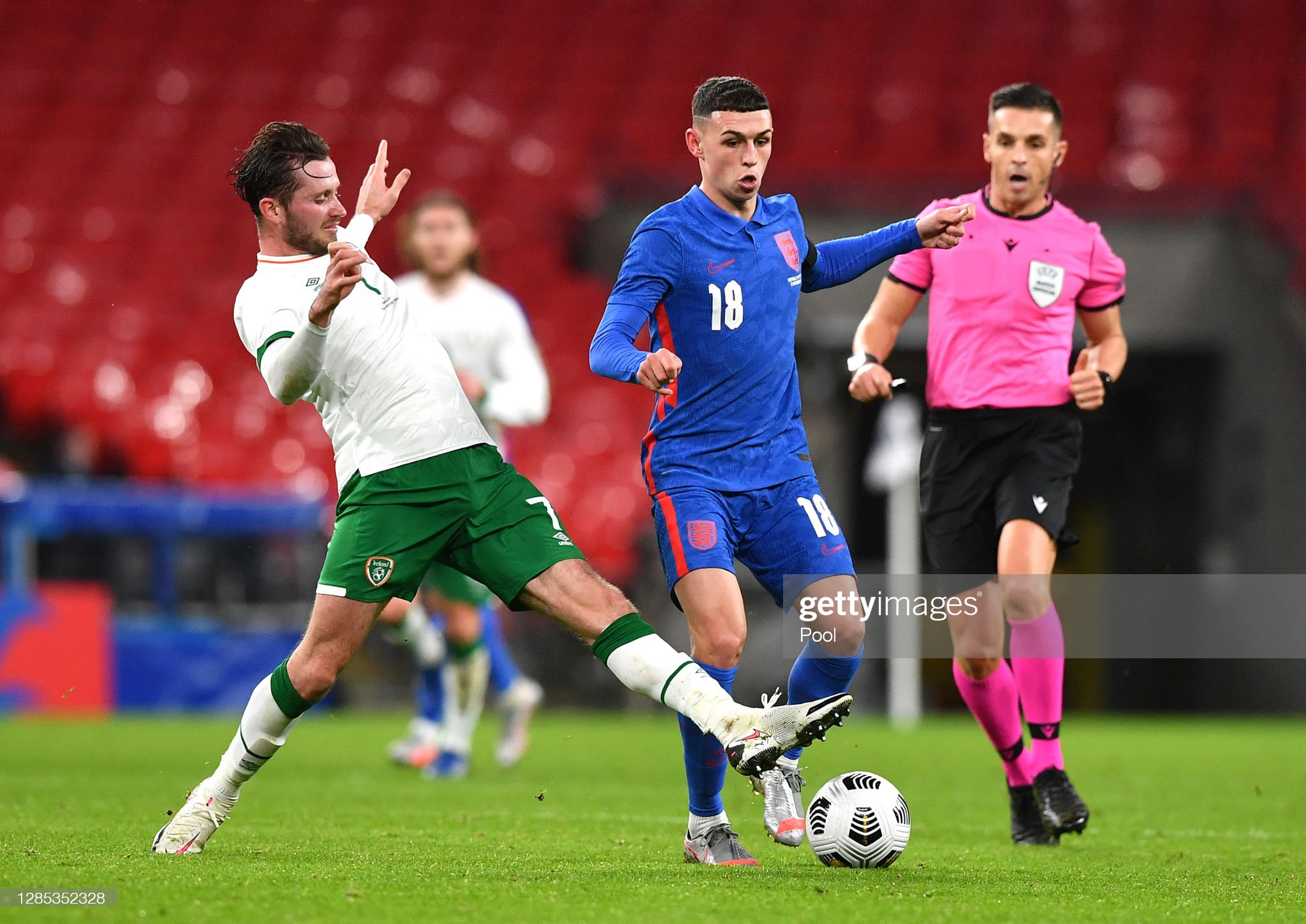 England v Republic of Ireland - International Friendly : News Photo