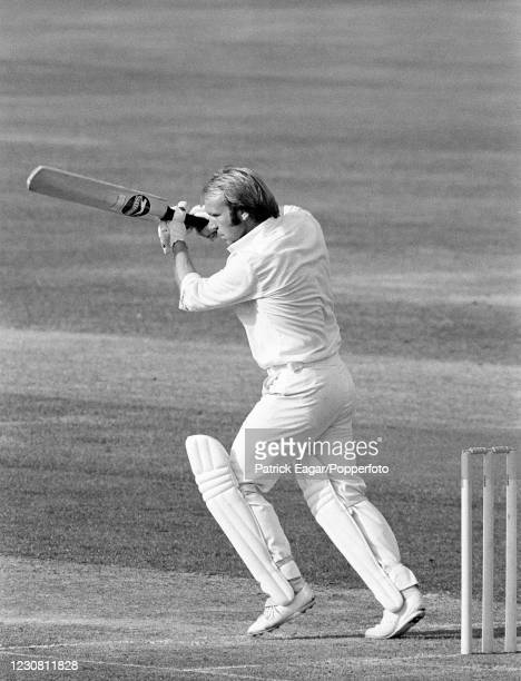 Alan Butcher of Surrey batting during the John Player League match between Surrey and Worcestershire at The Oval, London, 9th September 1979....