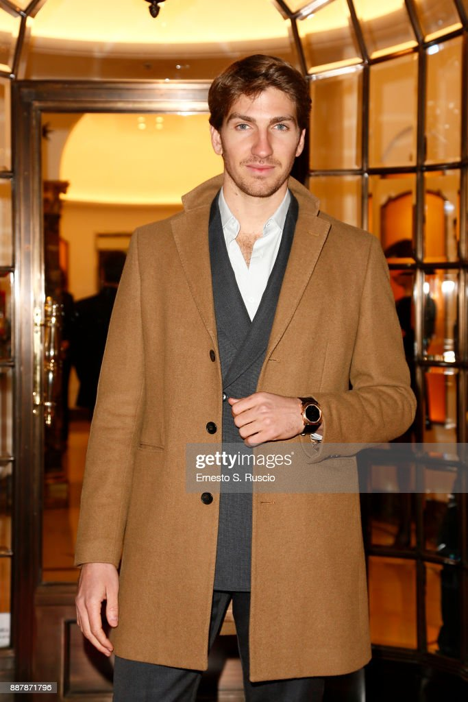 Alan Cappelli Goetz attends Christmas Lights At Bvlgari Boutique Rome on December 7, 2017 in Rome, Italy.