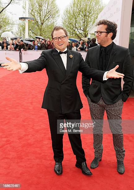 Alan Carr and Paul Drayton attend the Arqiva British Academy Television Awards 2013 at the Royal Festival Hall on May 12, 2013 in London, England.