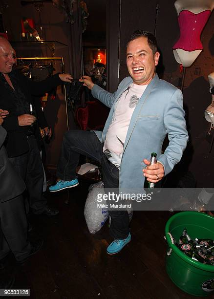 Alan Carr attends private view of Coco De Mer And John Stoddart: Love And Lust on September 9, 2009 in London, England.