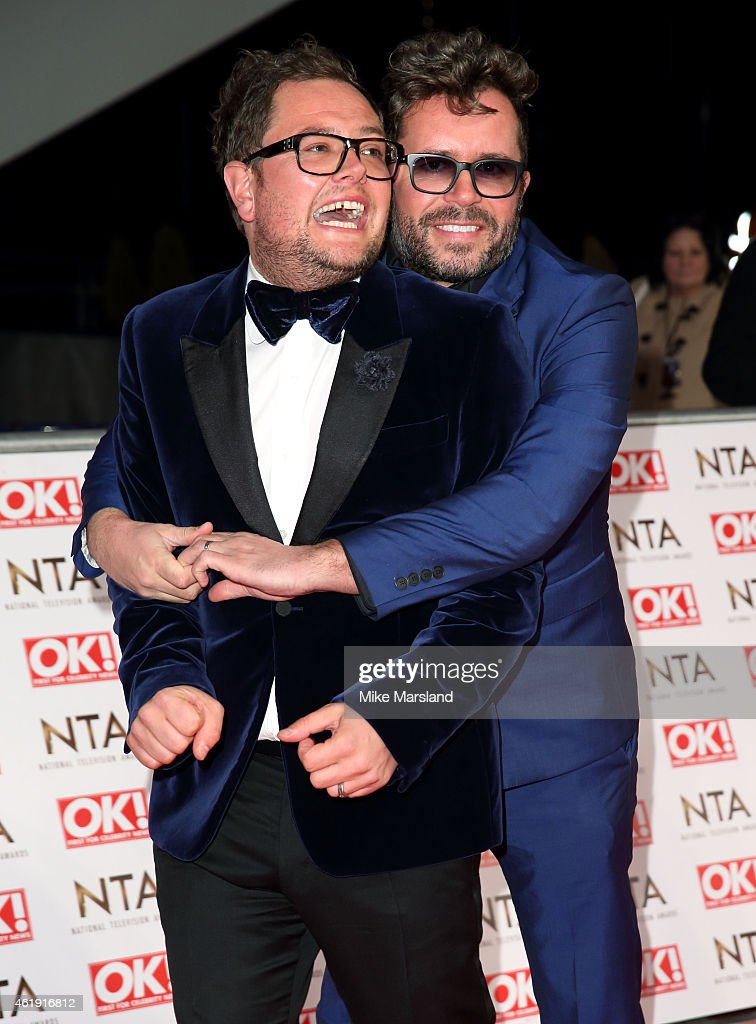 Alan Carr attends the National Television Awards at 02 Arena on January 21, 2015 in London, England.