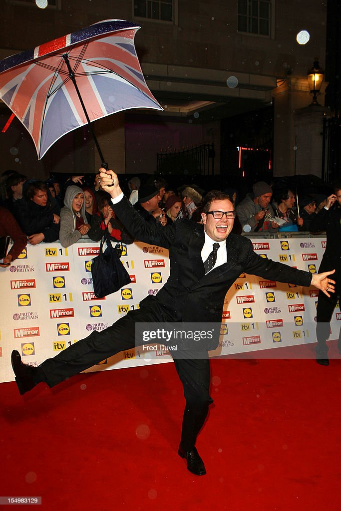 Alan Carr attends the Pride Of Britain awards at Grosvenor House, on October 29, 2012 in London, England.
